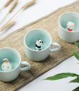 animal mugs – ceramic mugs at pop shop america