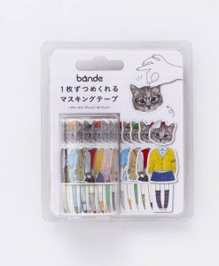 bande cat washi tape i - cute tape pop shop america
