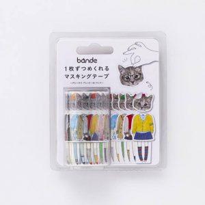 bande cat washi tape i - cute tape pop shop america