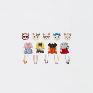cat washi tape cute bande tape II