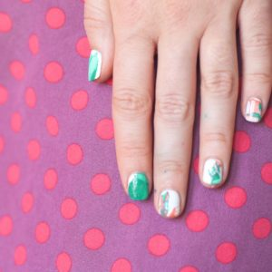 diy marbled nails - nail art_small