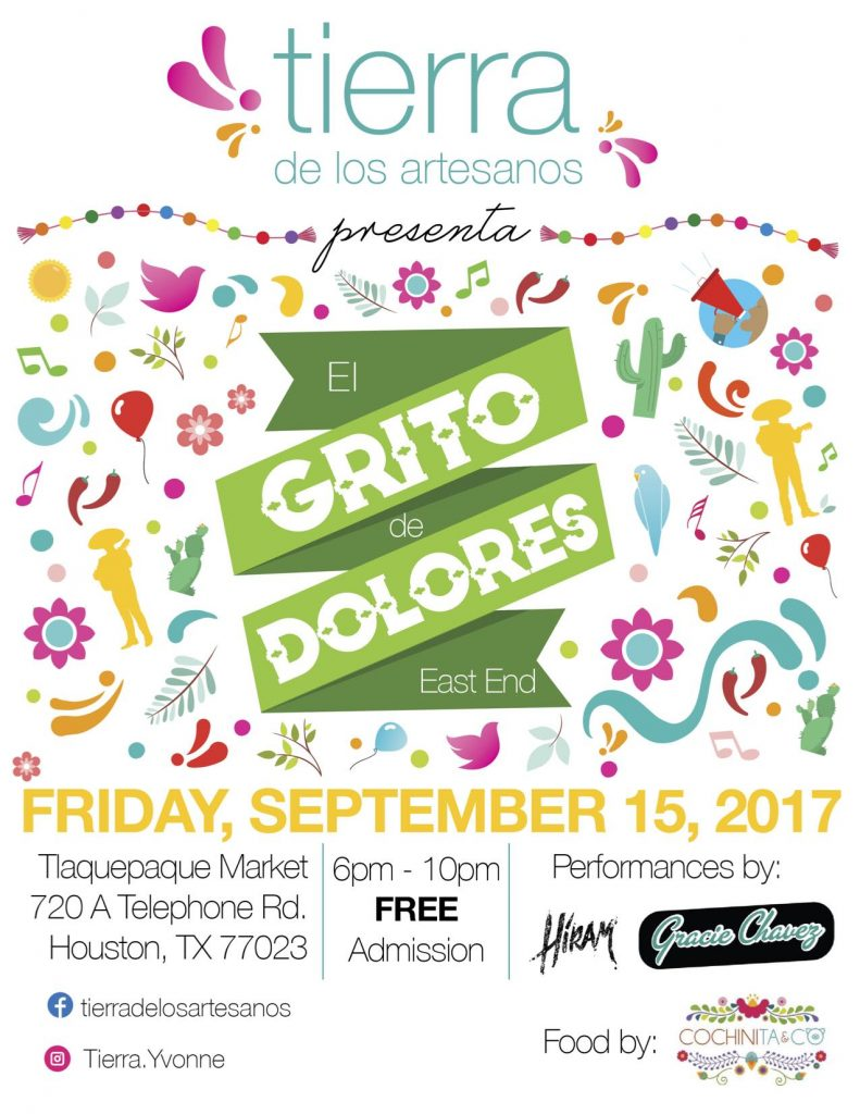 el grito de dolores east end houston events