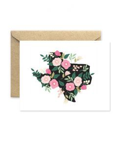 floral texas greeting card pop shop america