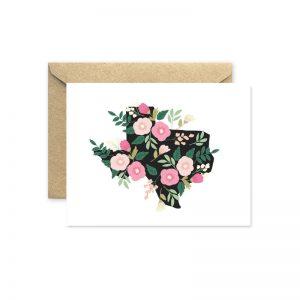 floral texas greeting card pop shop america
