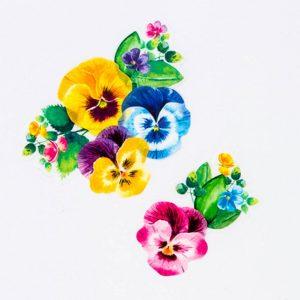 flower washi tape – bande made in japan_web