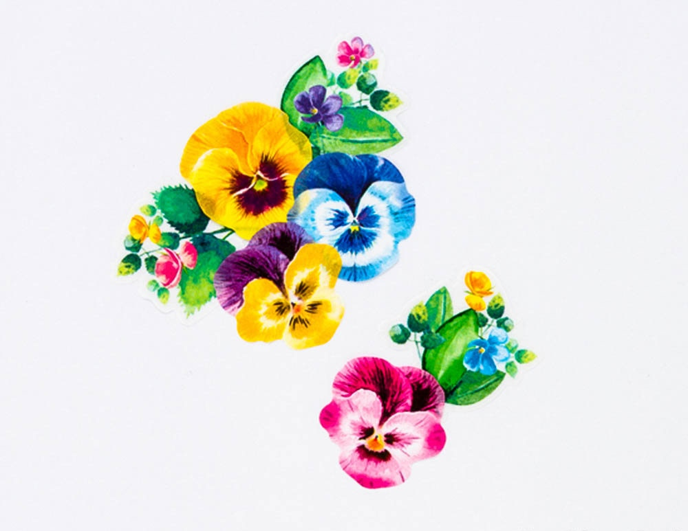 flower washi tape - bande made in japan_web