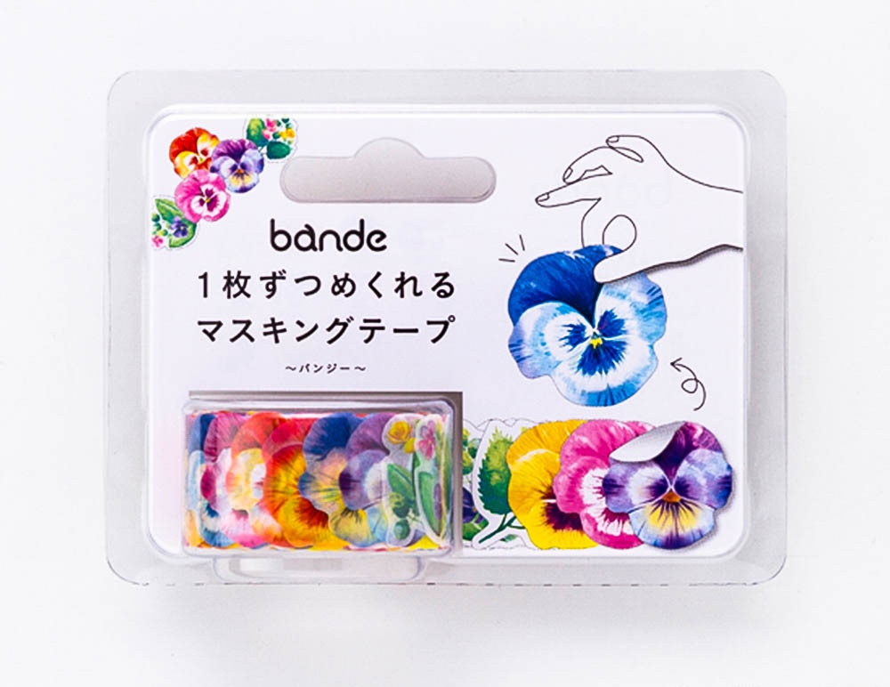 Bande DIY Masking Tape Stickers Terrarium Flowers