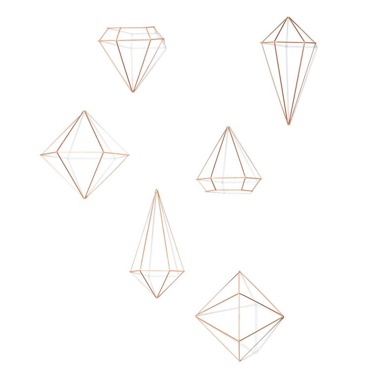 geometric shape wall art hanging orb