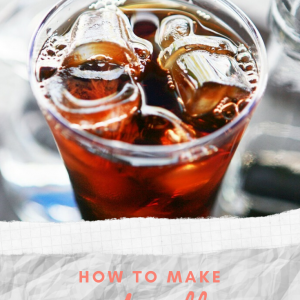how to make iced coffee recipe pop shop america