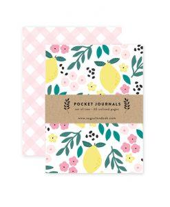 lemon paperback journals pop shop america