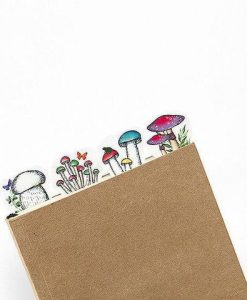 mushrooms washi tape craft supplies