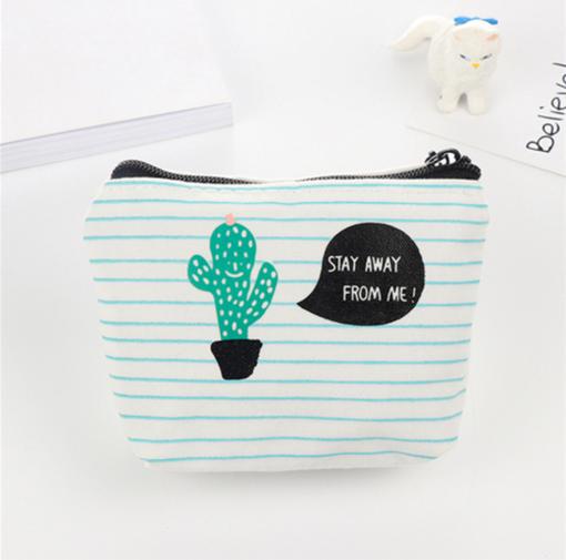 notebook paper canvas cactus pencil pouch pop shop america