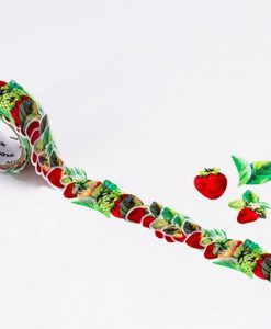 strawberry washi tape by bande on roll_web