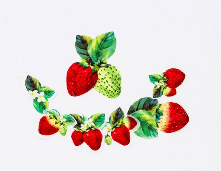 strawberry washi tape made in japan_web