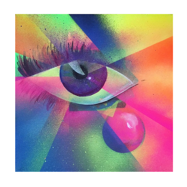 Lindsay Burck_Eye Prism Light Art