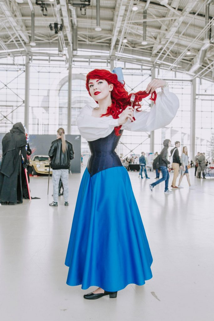 ariel the little mermaid cosplay dress - pop shop america