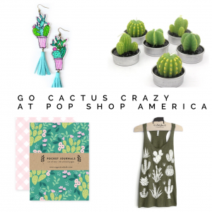 handmade cactus gift guide pop shop america