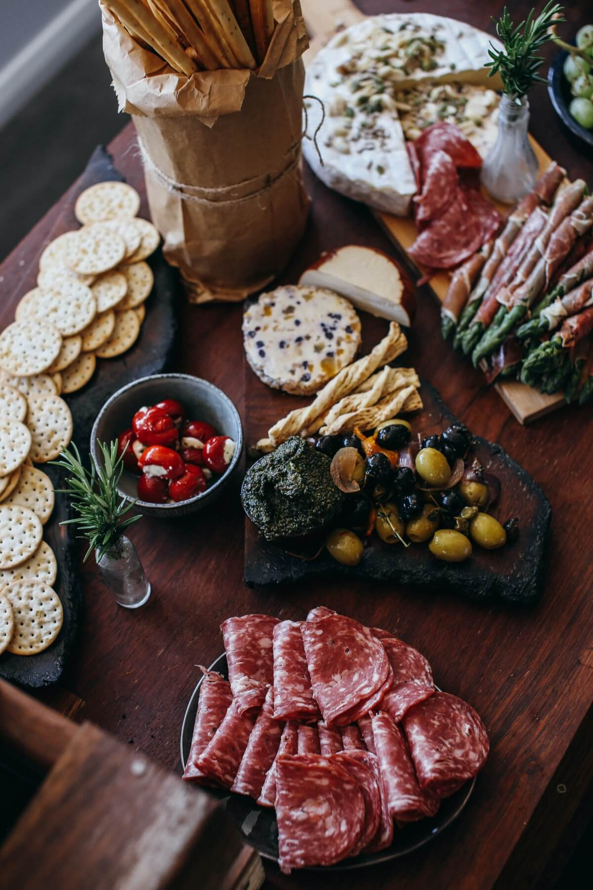 how to make a cheese plate with cured meats