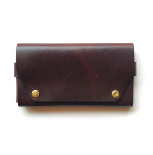 large mahogany leather wallet pop shop america