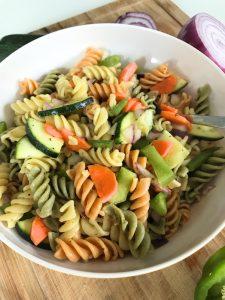 Lemon & Veggie Summer Pasta Salad