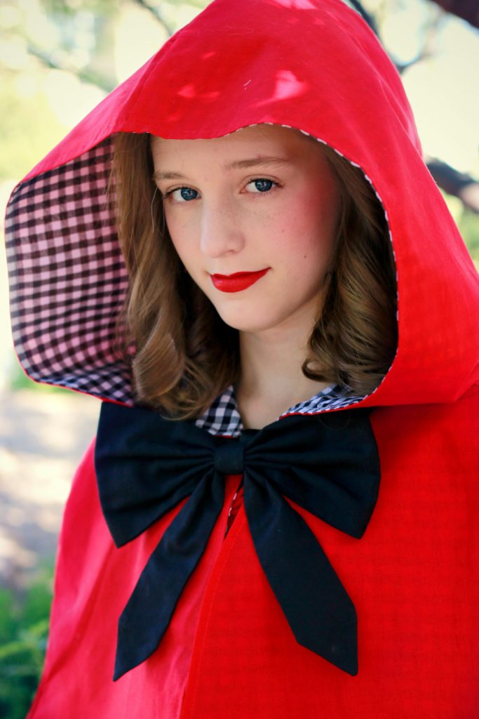 little red riding hood capelet - halloween costumes