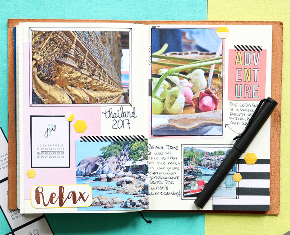 make a diy travel journal blitsy craft tutorials