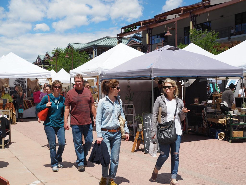 outdoors at firefly handmade market boulder