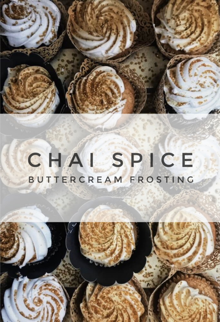 chai tea buttercream frosting recipe pop shop america