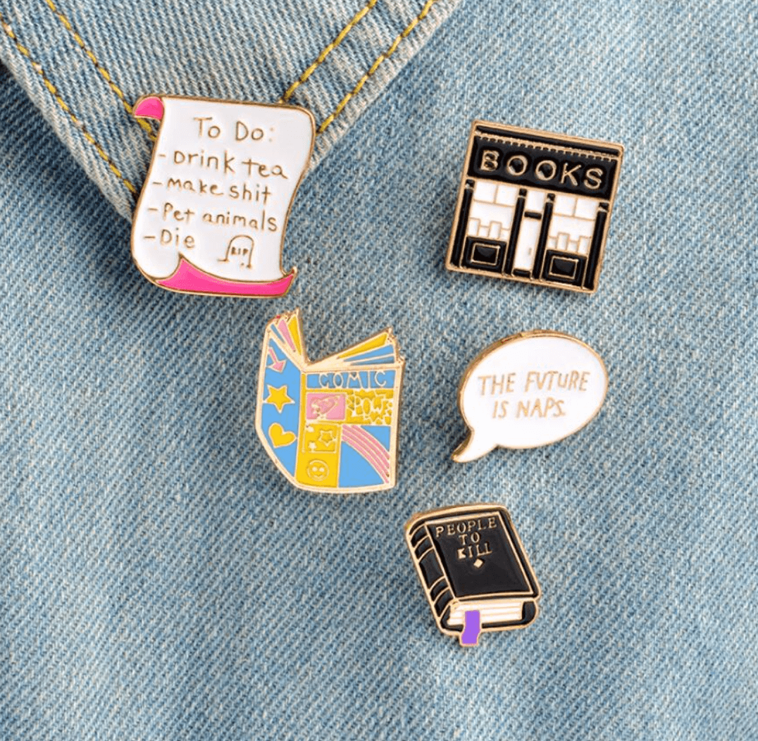 enamel pins- don't buy these on aliexpress
