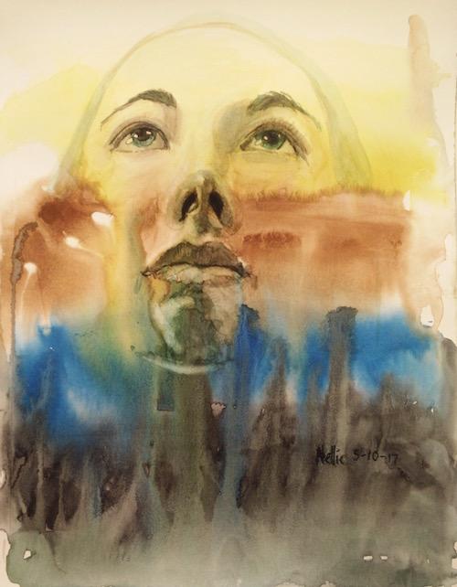 nellie cornett_Artist_Portrait_skyscape