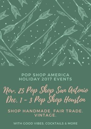 pop shop america holiday craft fairs houston san antonio