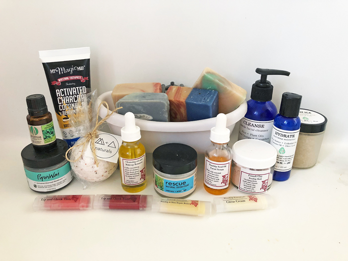 Wealth of natural skincare products