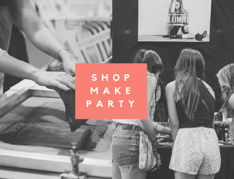 shop make party at pop shop america