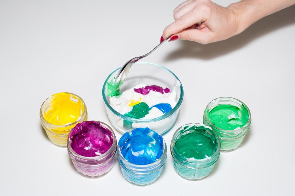 swirl the colors in the bowl rainbow unicorn recipes pop shop america