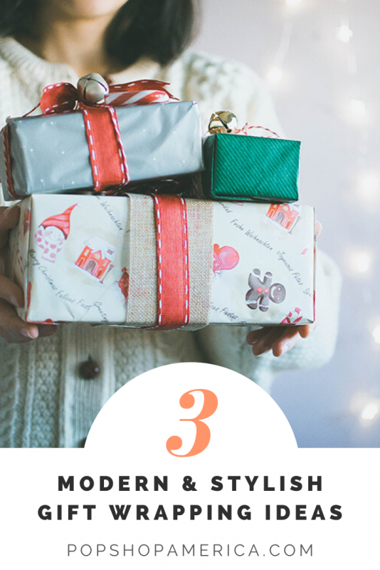 3 christmas gift wrapping ideas pop shop america