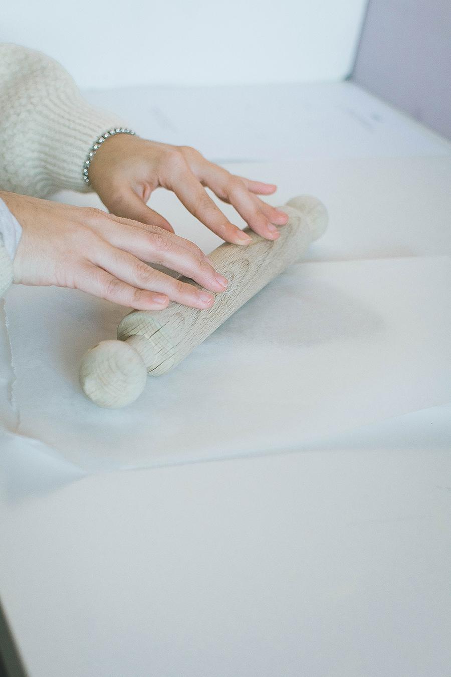 DIY Clay Gift Tags Process Tutorial