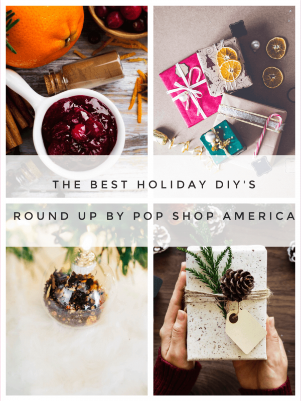 holiday diys round up by pop shop america