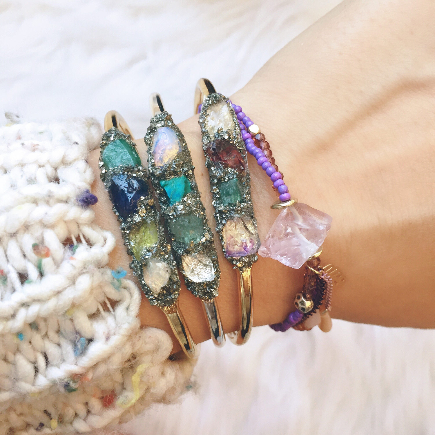 lea spirit gemstone bracelets pop shop america blog