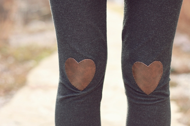 leather hearts tights diy pop shop america