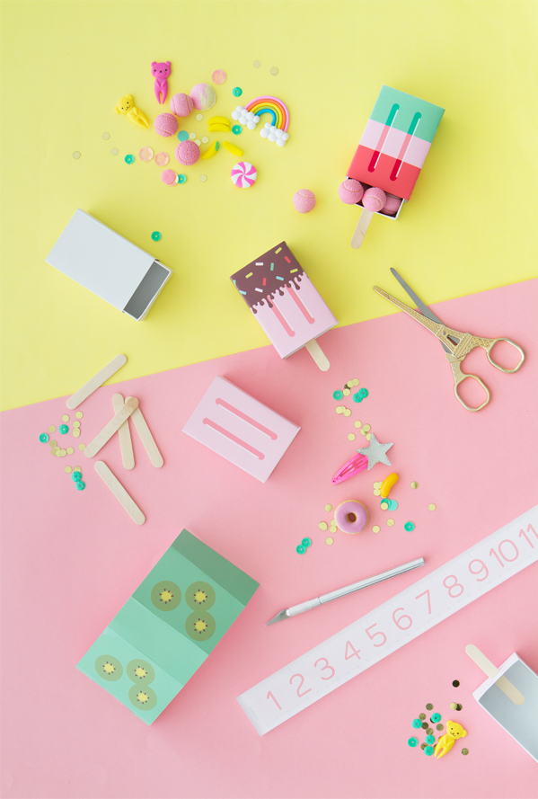 oh happy day popsicle favor boxes