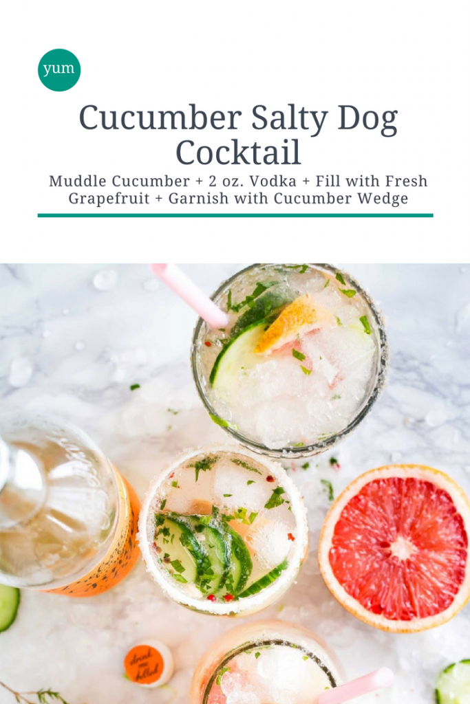 cucumber salty dog recipe pop shop america pinterest