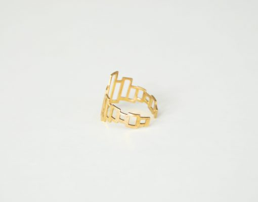 stylish brass rings pop shop america modern boxes brass ring