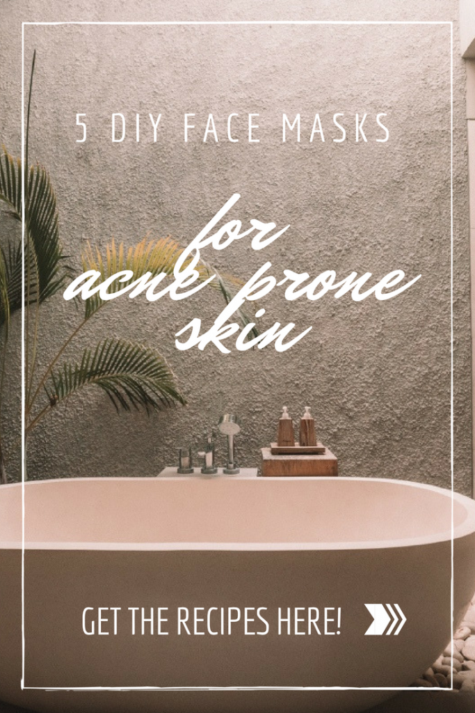 5 diy face masks for acne prone skin pop shop america