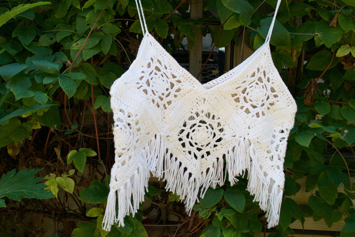 Boho Crochet Crop Top Tutorial
