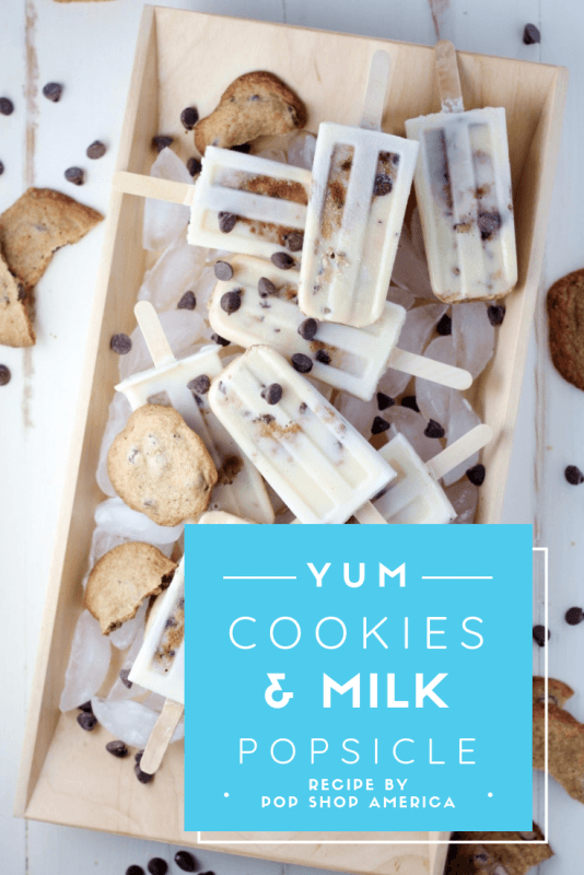 cookies and milk popsicles recipe