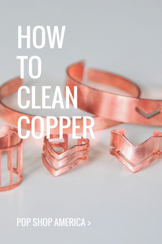 how to clean copper jewelry pop shop america