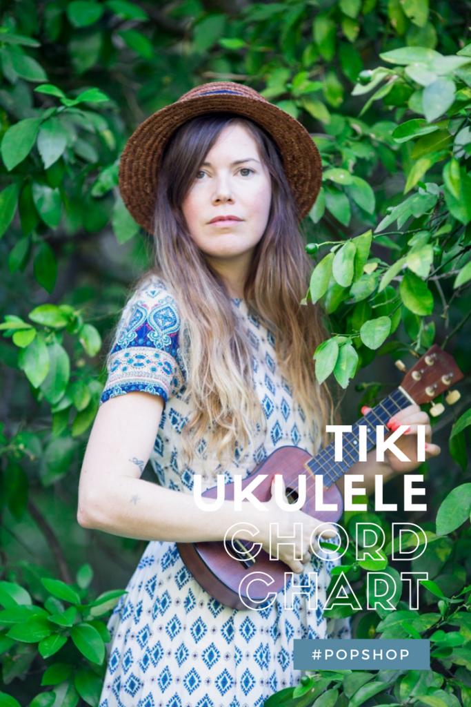 Tiki Ukulele Chord Chart Free Printable For Standard Tuning