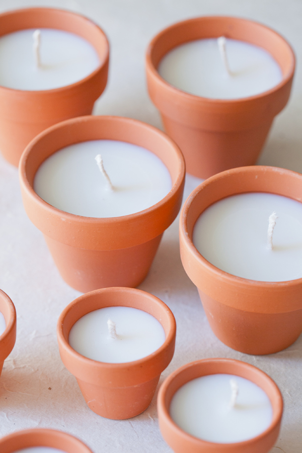DIY Terra Cotta Candles 5-1