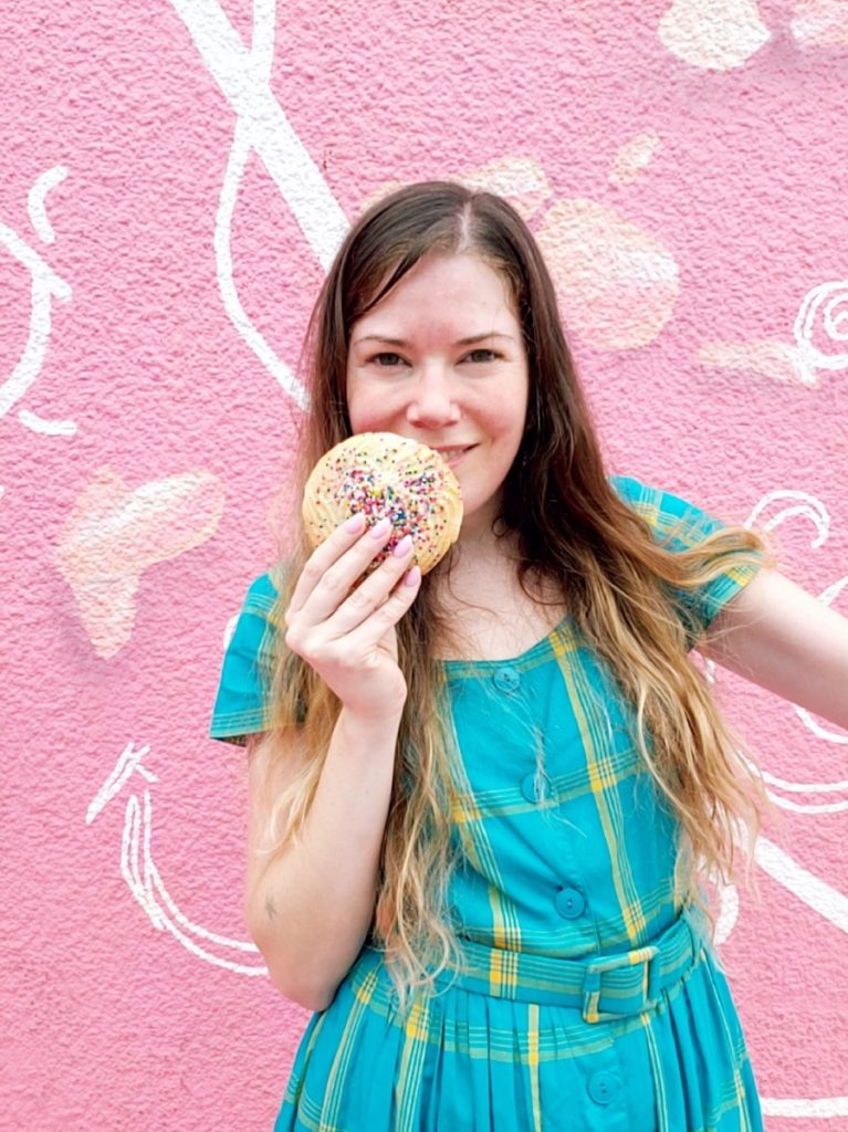 brittany with cookie pop shop america