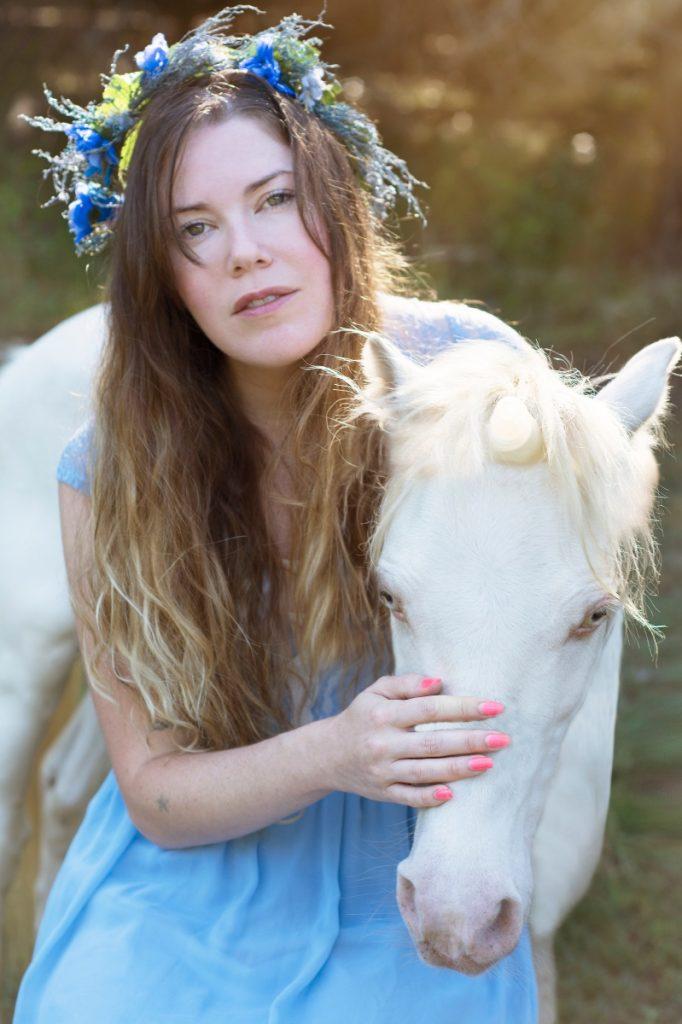 flower crown and unicorn portraits pop shop america